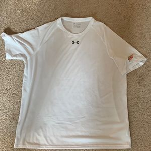 Mountain Dew under armour promotional shirt Xl new